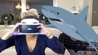 Jonna testar att överleva en hajattack