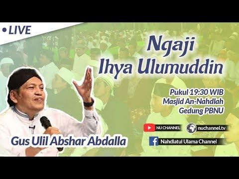 (LIVE) Kajian Ihya Ulumuddin Oleh Gus Ulil Abshar Abdalla