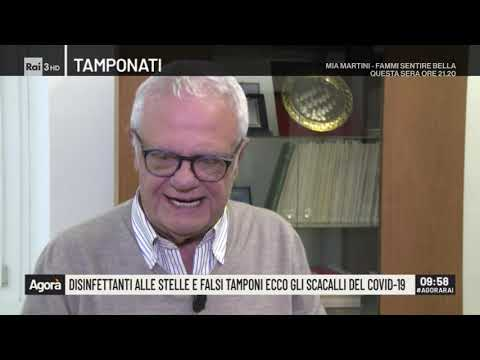 Mascherine 'tarocche', disinfettanti alle stelle, e falsi tamponi - Agorà 27/02/2020