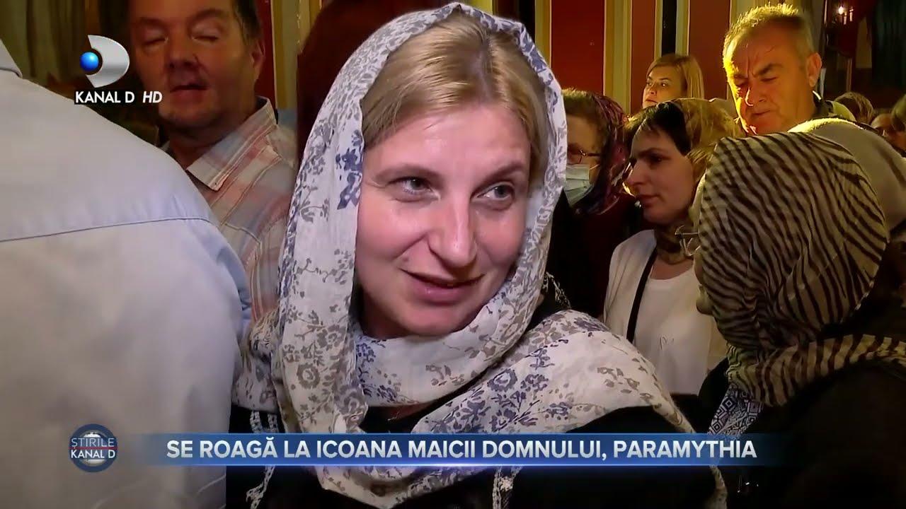 Stirile Kanal D (07.09.) - Oamenii se roaga la icoana Maicii Domnului, Paramythia! | Editie de pranz