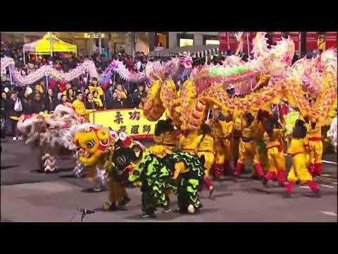 CNY 2018: YKM USA Lion & Dragon Dance ~ San Francisco CNY Parade