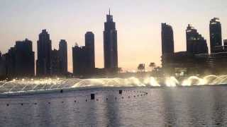 Dubai Fountain @ Downtown Dubai, UAE (Classical Music)