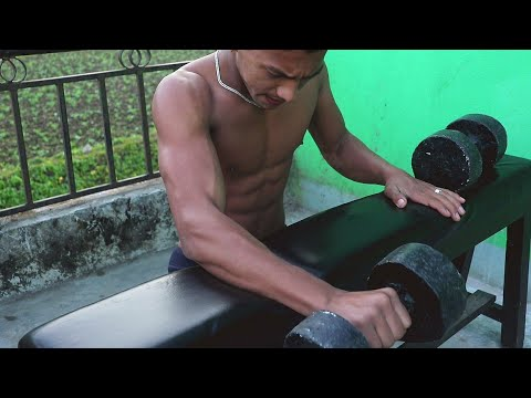 Forearms Workout In My HomeMade Gym | DIY Gym