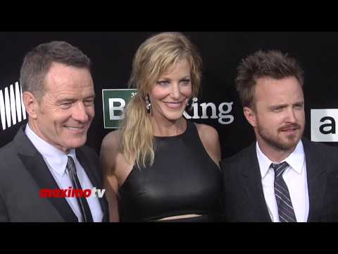 Breaking Bad Bryan Cranston, Anna Gunn, Aaron Paul, RJ Mitte SPECIAL Final Season PREMIERE