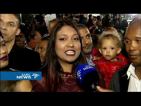 Cape Town bid farewell to 2017 in the colourful V and A Waterfront