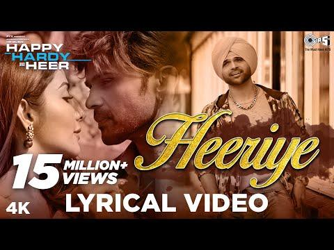 Heeriye Lyrical - Happy Hardy And Heer | Himesh Reshammiya, Arijit Singh, Shreya Ghoshal, Sonia Mann