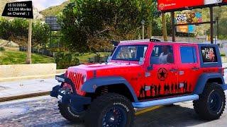 2014 Jeep Wrangler Rubicon - GTA MOD ENB 60 FPS GAMEPLAY