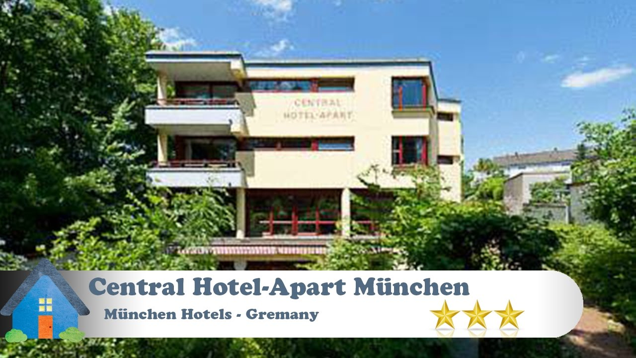 central hotel apart m nchen m nchen hotels germany youtube. Black Bedroom Furniture Sets. Home Design Ideas
