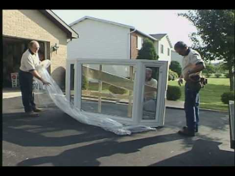 gorell replacement bow and bay window installation part how to install a bow window family handyman