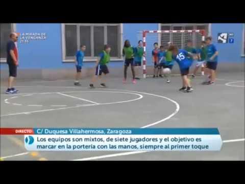 Aragón en Abierto. Campeonato de colpbol.