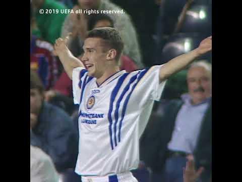 Andriy Shevchenko Vs Fc Barcelona Youtube