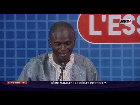 3ème mandat de Macky Sall, ASSANE SAMB  fait de graves rév