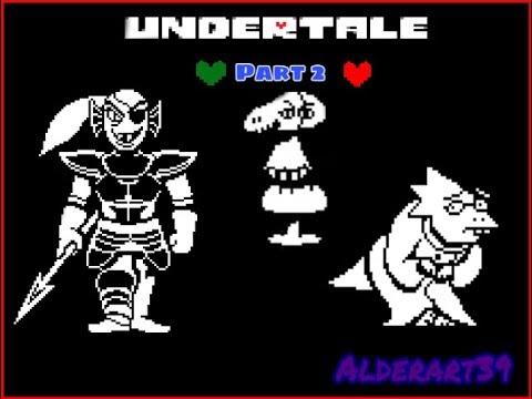 Adventure through Waterfall (Undertale Pacafist run Part2)