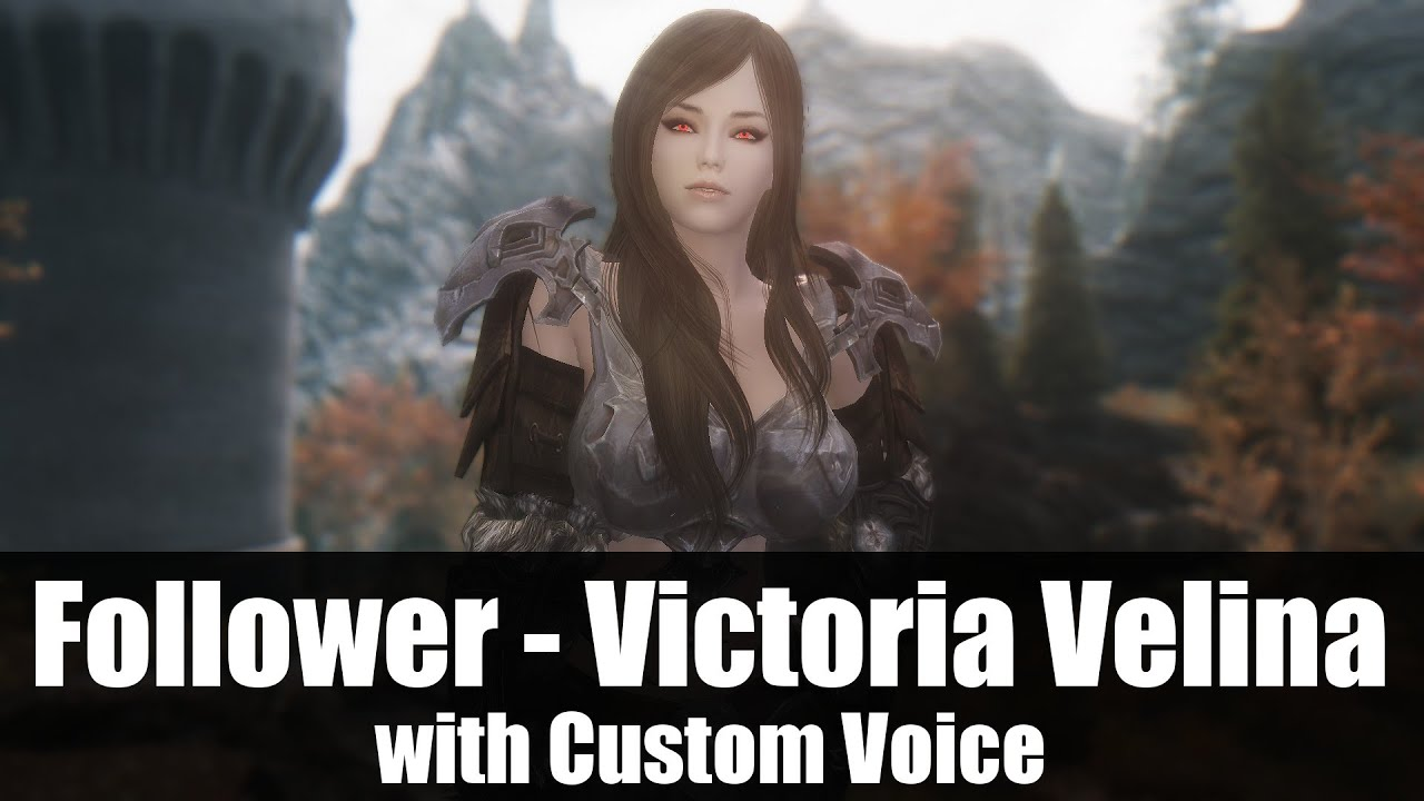 skyrim how to change custom followers