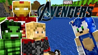 Minecraft Sonic The Hedgehog - Sonic Helps The Avengers! [32]