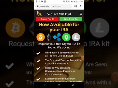 Regal Assets - Setup Your Regal Crypto/Bitcoin IRA Today (RA Wealth Partners) #regalira