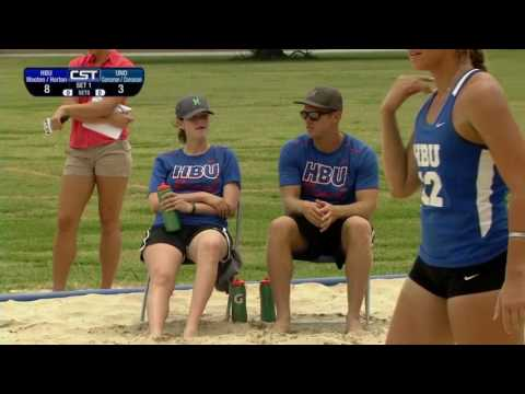 UNO vs HBU Beach Volleyball 2017-04-29