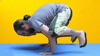İlginç Yoga Hareketlerini Yapmayı Denedik