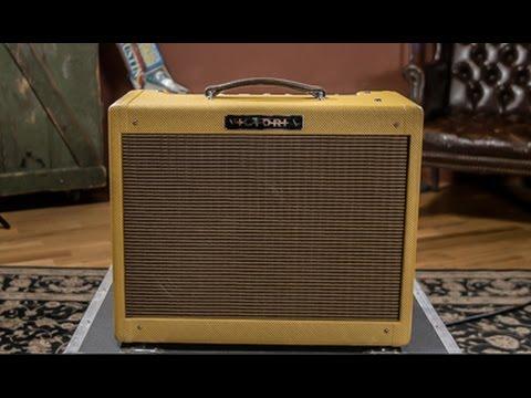Victoria Amplifier Vicky Verb Jr. Demo