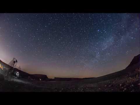 Astrophotography in Negev desert