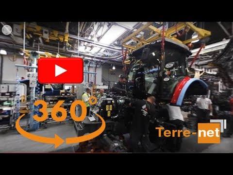 [video VR 360] Visite d'usine Massey Ferguson Beauvais