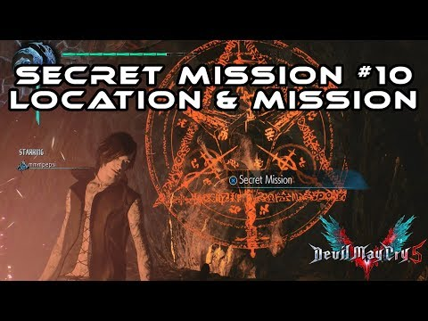 (DMC5) Devil May Cry 5 I Secret Mission 10 Location & Solution (Secrets Exposed)