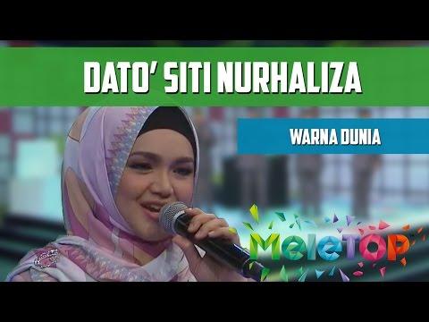 Dato' Siti Nurhaliza - Warna Dunia - MeleTOP Persembahan LIVE Episod 206 [11.10.2016]
