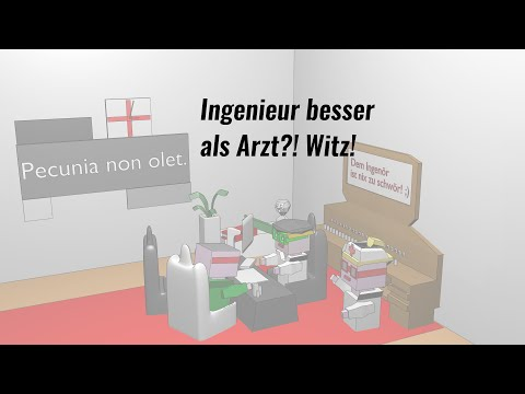 Ingenieur besser als ein Arzt? - lustige Witze, Animation  DerNerdiTV