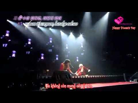 HYSVietsub+kara Kim Junsu Musical Concert Levay with friends I can't escape my fate Happy YS's Day