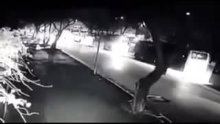 Ankara'da patlama anı güvenlik kamerasında