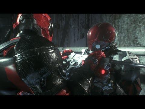 Batman: Arkham Knight - Deadpool Vs Red Hood
