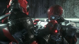 Batman: arkham knight - deadpool vs red hood