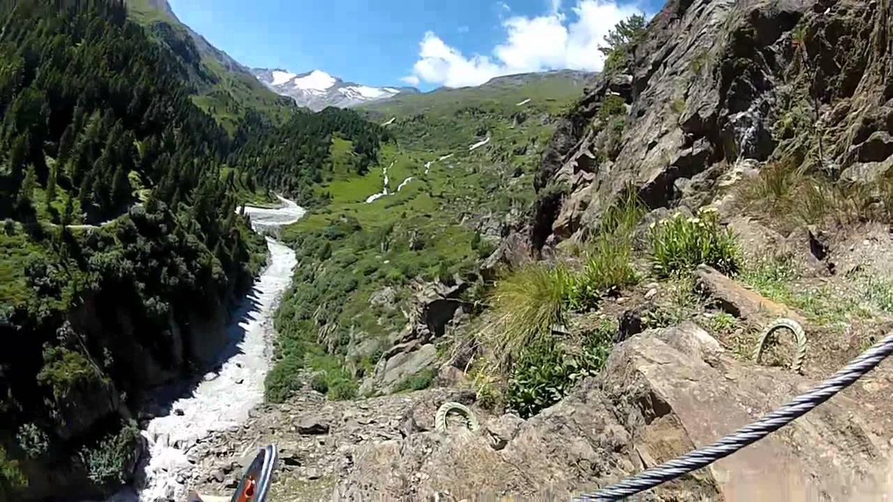 Klettersteig Obergurgl : Klettersteig zirmwald obergurgl im Ötztal youtube