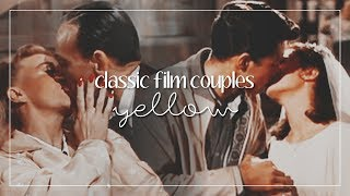 Classic Film Couples | Yellow