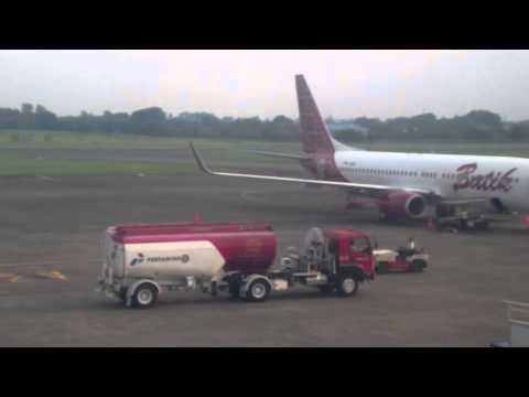 Terbang ke Kupang dr Bandara Halim dg Batik Air