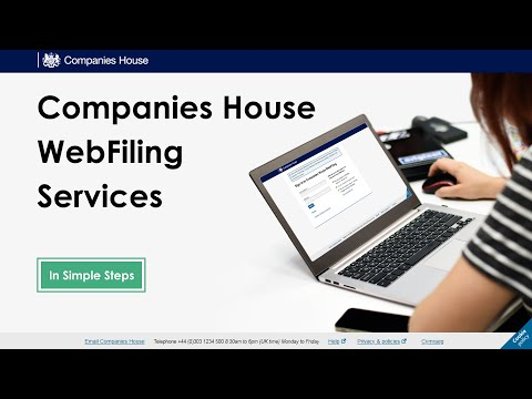 How To File Confirmation Statement Using Companies House WebFiling Service?