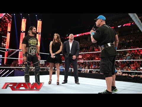 The Authority kicks off the night: Raw, July 27, 2015