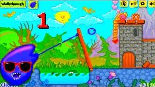 Мультик Игра Малыш Ам Ням #1 - Cartoon Game Babe Om Nom