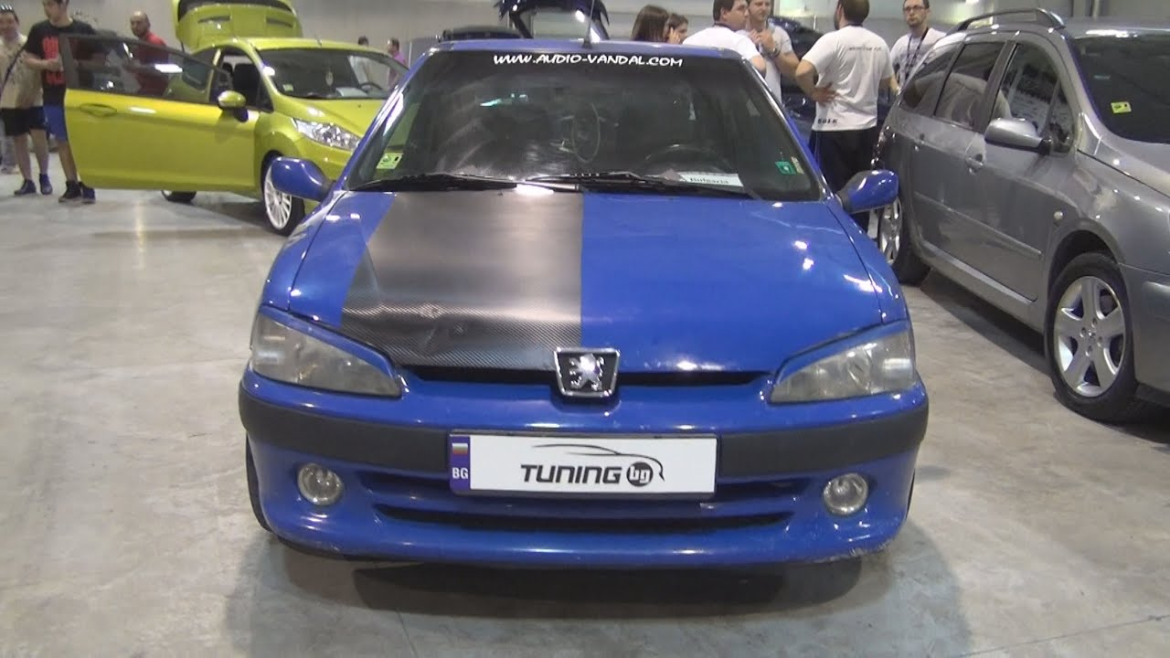 Peugeot 106 Sport ESPL 4 Woofers Tuned Exterior And