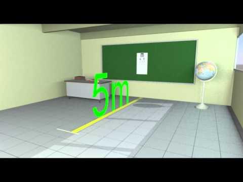 Vídeo Exame acuidade visual