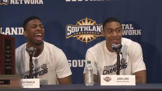 ACU Men's Basketball | ACU  Championship Press Conference