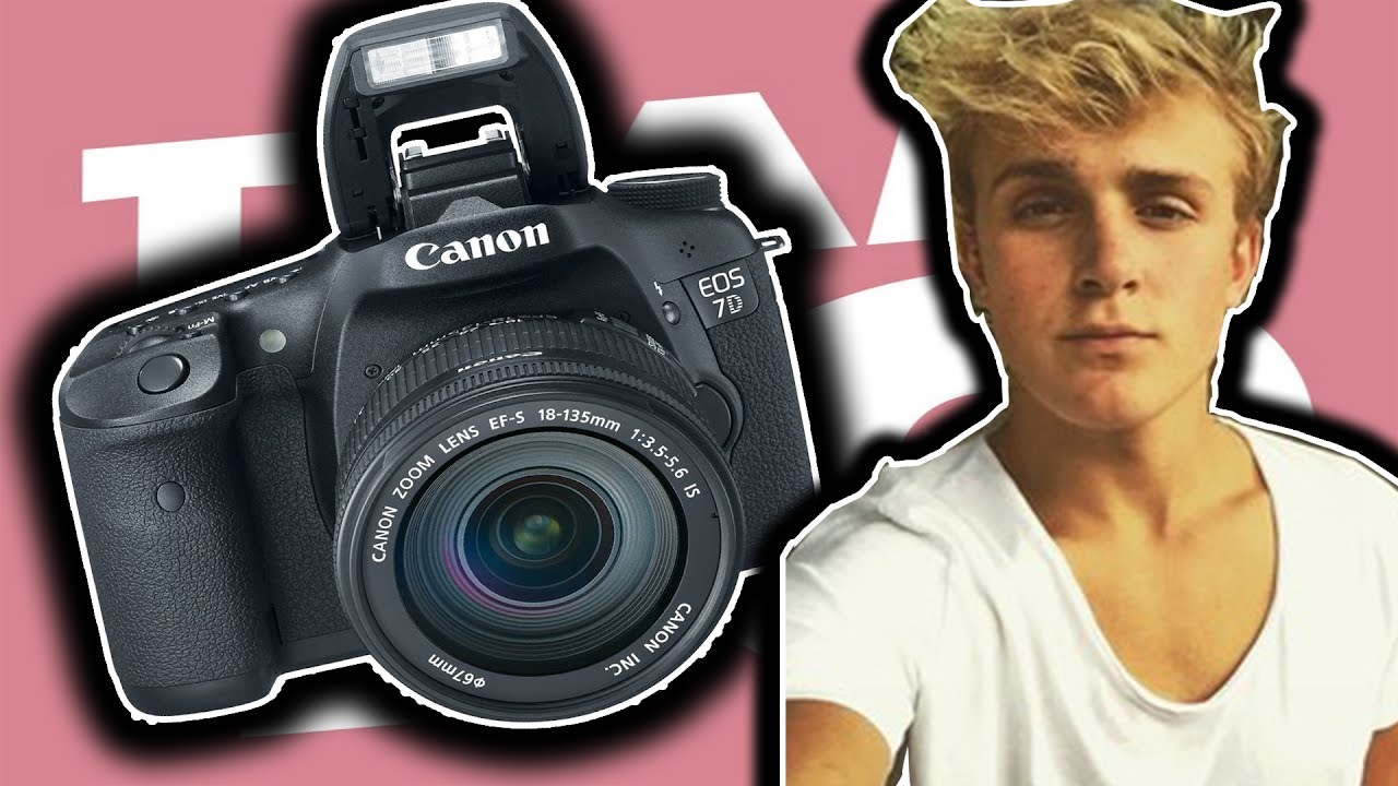 What camera does logan paul use