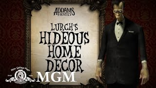 THE ADDAMS FAMILY | DIY: How To Make Lurch's Spooky Décor | MGM