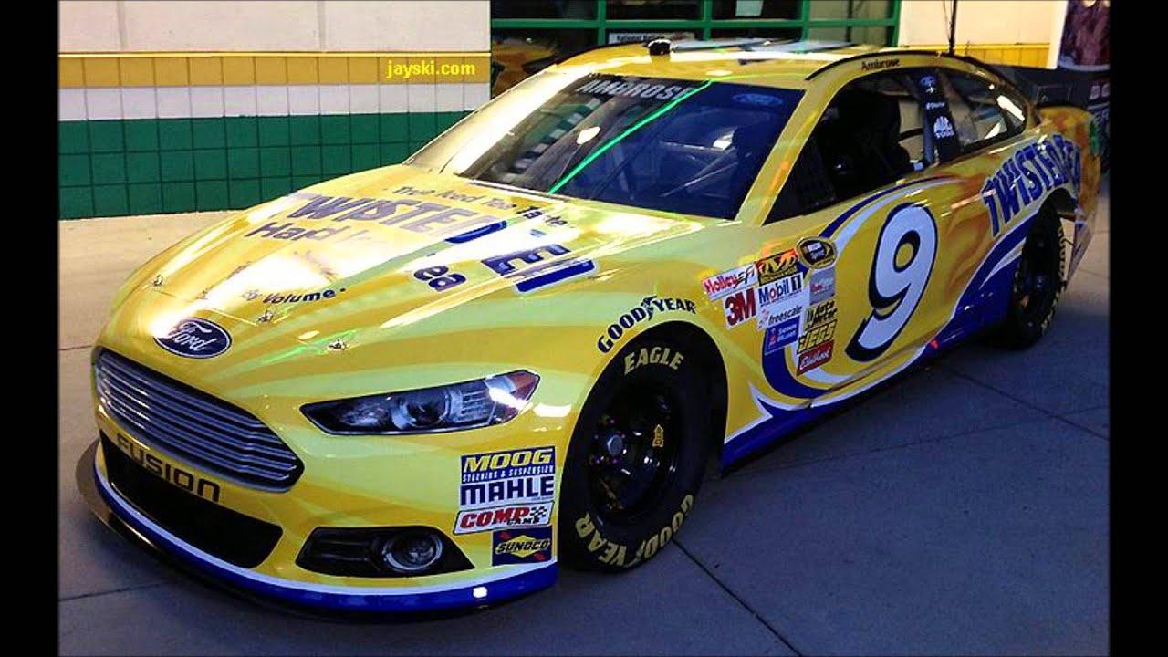 2014 Nascar Sprint Cup Series Paint Schemes Youtube