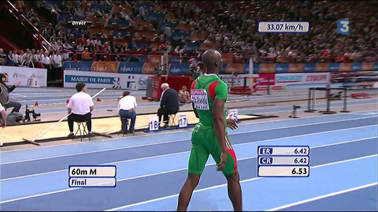 Atletismo :: Francis Obikwelu, campeão europeu de pista coberta nos 60m em 2011