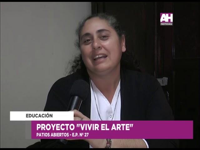 MARIA DEL VALLE AIOLA    CECILIA BALBIANO   LORENA RISO   KARINA MORALES   PROYECTOR VIVIR EL ARTE P
