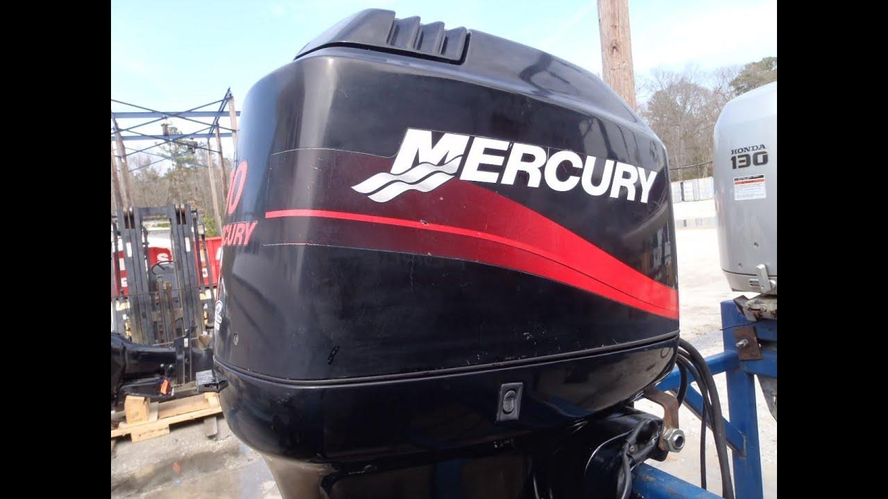 6m3a73 used 2003 mercury 90elpto sw 90hp 2 stroke remote outboard boat motor 20 shaft [ 1280 x 720 Pixel ]