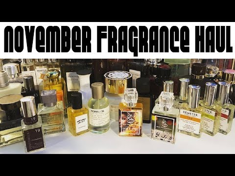 HUGE November Fragrance Haul 40+ Bottles