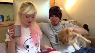 Question And Answers Part 1! June 2013 - Violet Lebeaux Vlogs