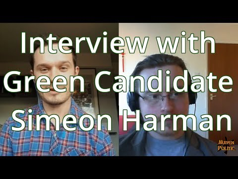 Interview with Simeon Harman, Green Party Candidate for South Basildon